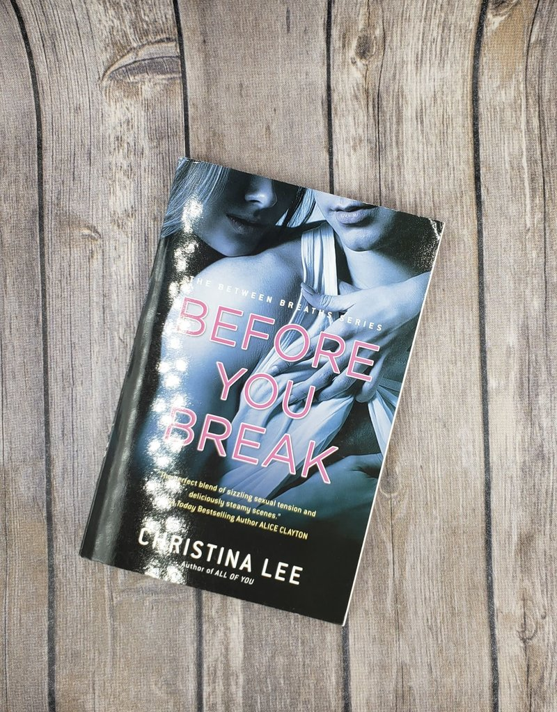 Before you Break, #2 by Christina Lee