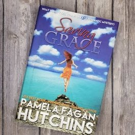 Saving Grace, #1 (Hardback) by Pamela Fagan Hutchins - Unsigned