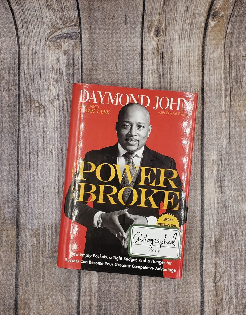 The Power of Broke (Hardback) by Daymond John