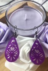BWB Purple Earrings