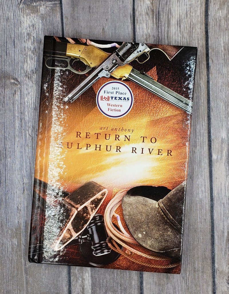 Return to Sulphur River (Hardback) by Art Anthony