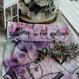 Sleep is for Quitters Pillowcase