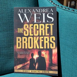 The Secret Brokers by Alexandrea Weis - Unsigned