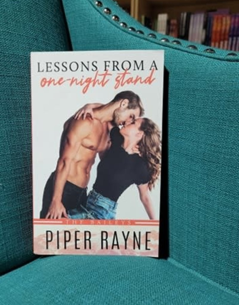 Lessons From a One - Night Stand, #1 by Piper Rayne - Bookplate