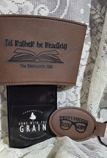 I'd Rather be reading Coffee Sleeve & Key Chain