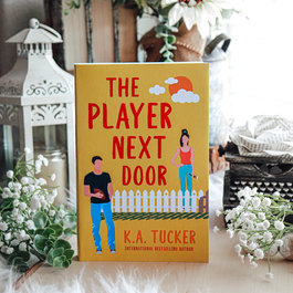 KA Tucker PinMate & The Player Next Door, #1 by KA Tucker - Exclusive Cover