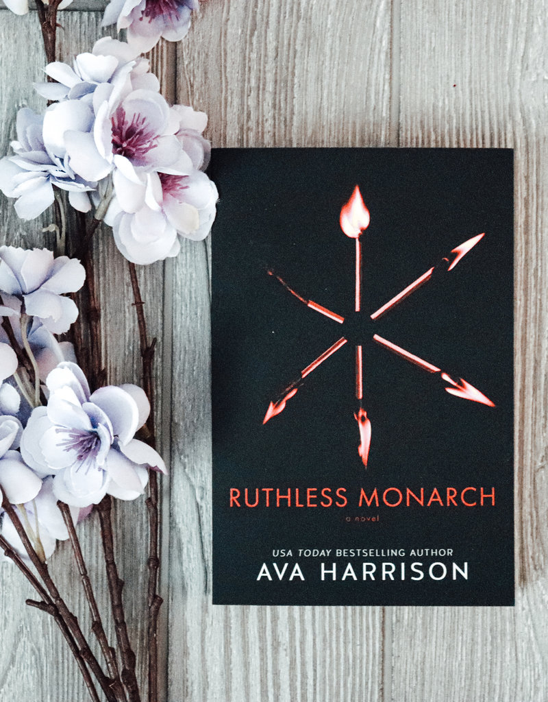 Ruthless Monarch by Ava Harrison - Exclusive Cover