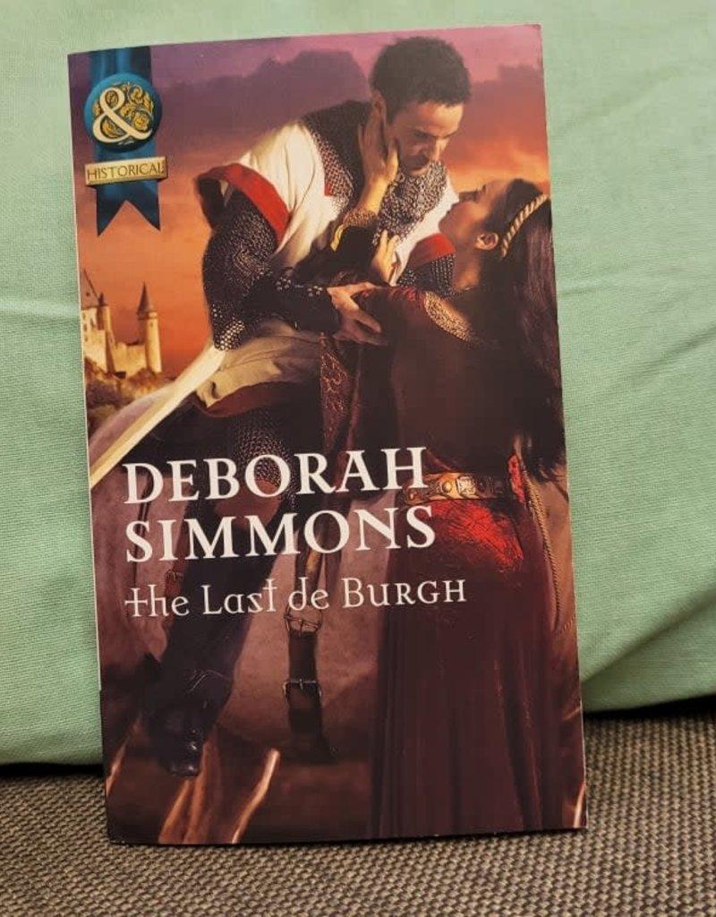 The Last de Burgh, #7 by Deborah Simmons - Mass Market