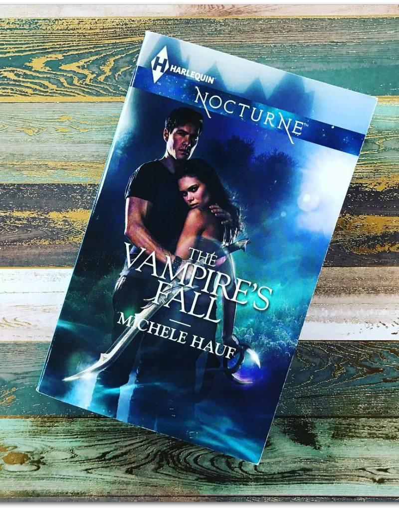 The Vampire's Fall by  Michele Hauf - BOOK BONANZA PICKUP ONLY