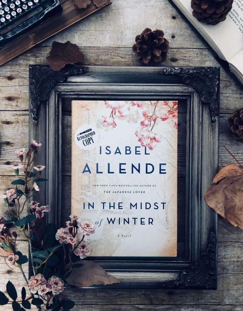 In The Midst Of Winter by Isabel Allende - BOOK BONANZA PICKUP ONLY