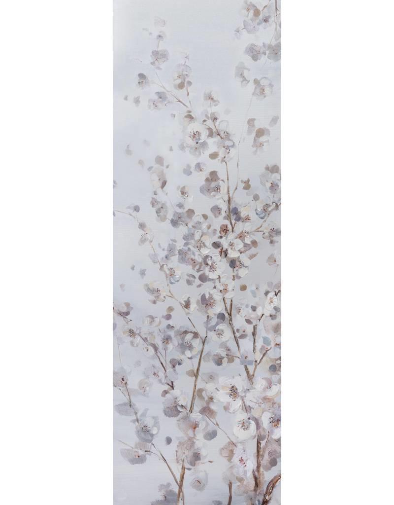 """Toile fleur de pommier BLOSSOM BRENCH II 20"""" X 59"""""""