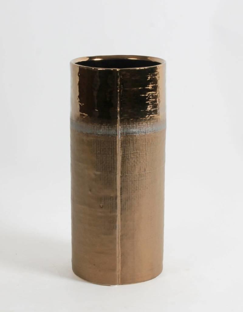 """Vase bronze 12"""""""