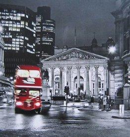 """Toile Londres et autobus 24"""" x 36"""""""