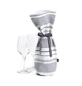 Ricardo Sac à vin à rayures noires
