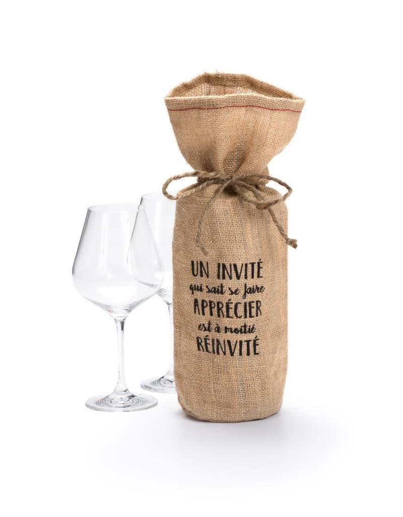 Ricardo Sac à vin en jute