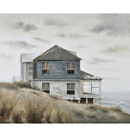 "Toile 3D Coastal Retreat 48"" x 60"""