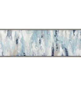 "Toile abstraite Trancendental Sky 20"" x 60"""