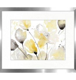 """Toile Neutral Floral B 16"""" x 20"""""""