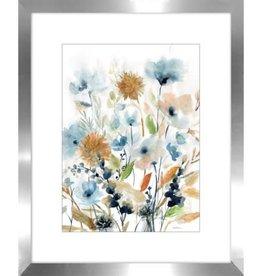 "Toile fleurs de Hollande B 16"" x 20"""