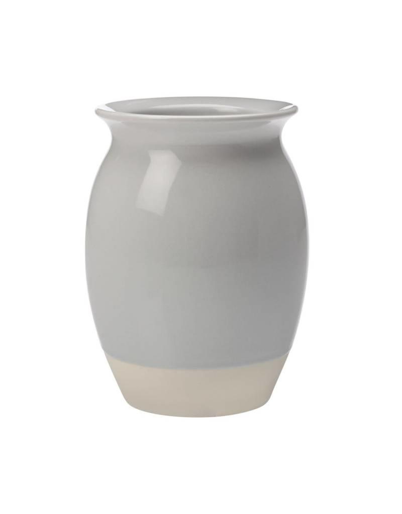 Vase gris et beige