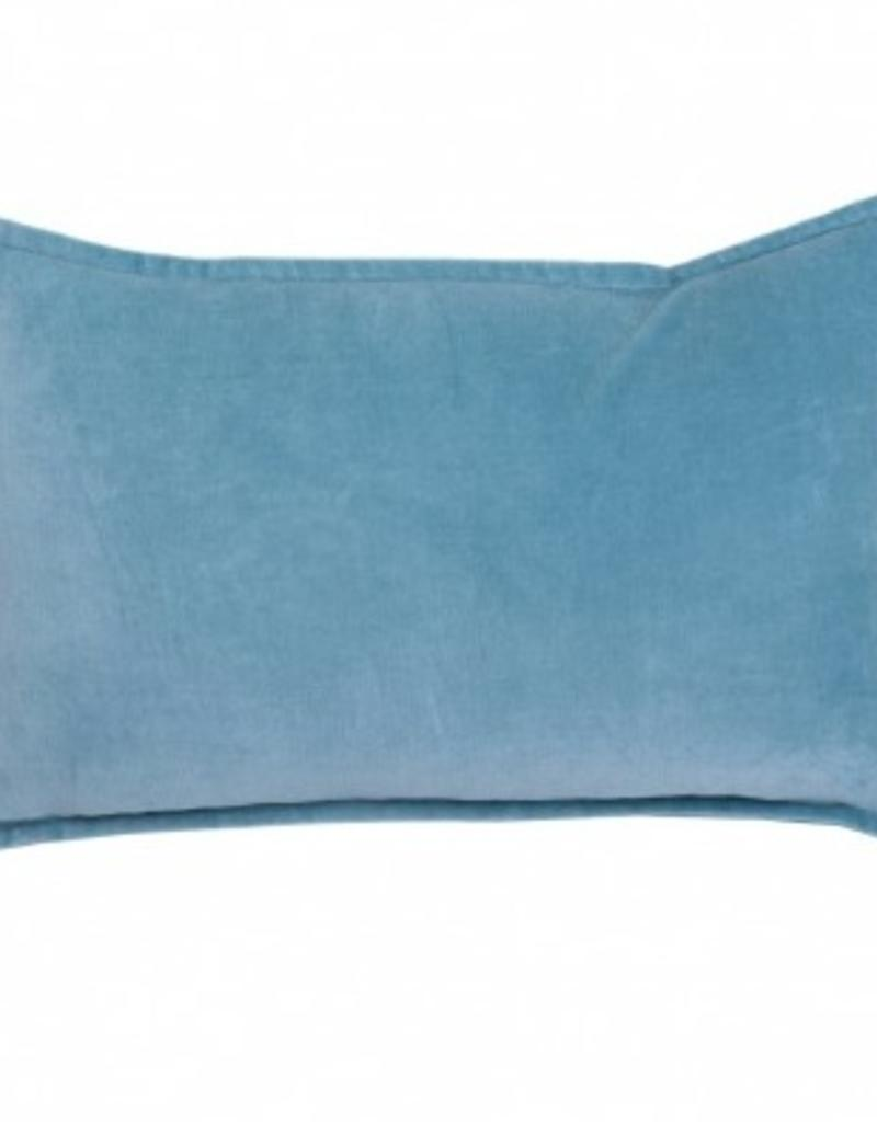 """Coussin Zenith turquoise 12"""" x 20"""""""