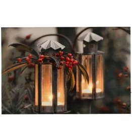 "Toile lumineux lanternes 23.5"" x 15.5 """