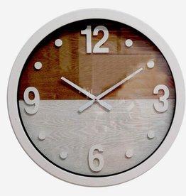 """Horloge 2 tons 16"""""""