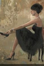 """Toile Femme à la Chaussure Noire 32"""" x 32"""""""