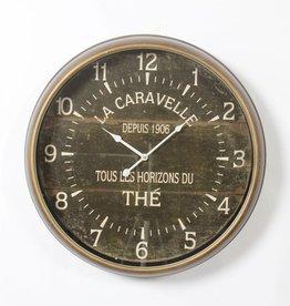"Horloge horizons du thé 23"""