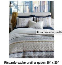 """Cache-oreiller Riccardo 20"""" x 30"""""""