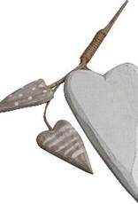 Mobile coeur en bois