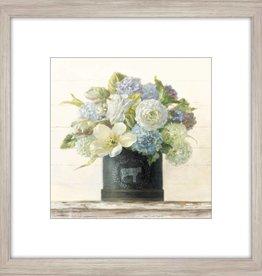 """Toile Anemone dans un vase B 18"""" x 18"""""""