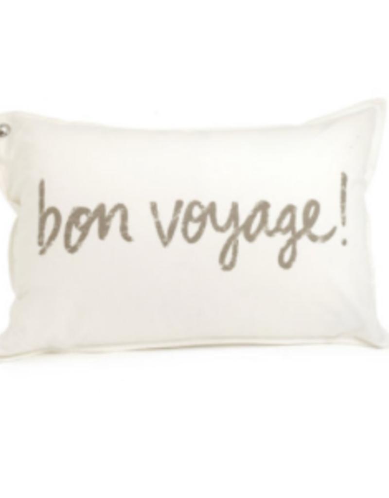 "Coussin Bon voyage 16"" x 24"""