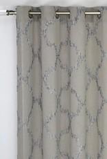 """Rideau gris moyen Vogel 54x96"""""""