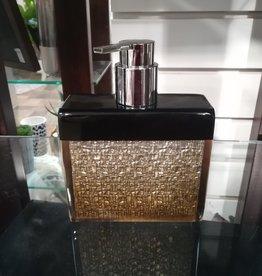 Pompe à savon dégradé de bronze