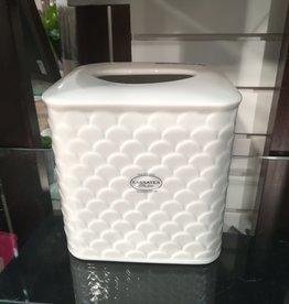 Boîte cache-mouchoirs Scala blanc