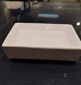 "Savonnier carré blanc 3"" x 5"""