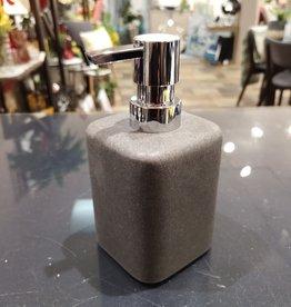 Pompe à savon Toho béton gris foncé