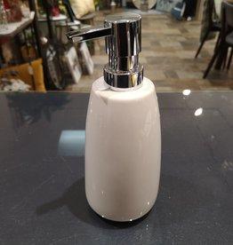 Pompe à savon blanche Compel