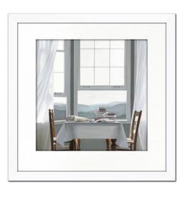 """Toile Table avec vue 18"""" x 18"""""""