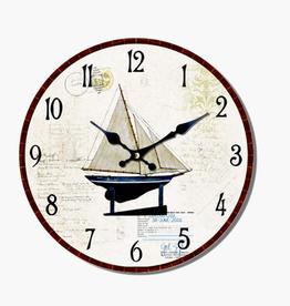 """Horloge voilier 13"""""""