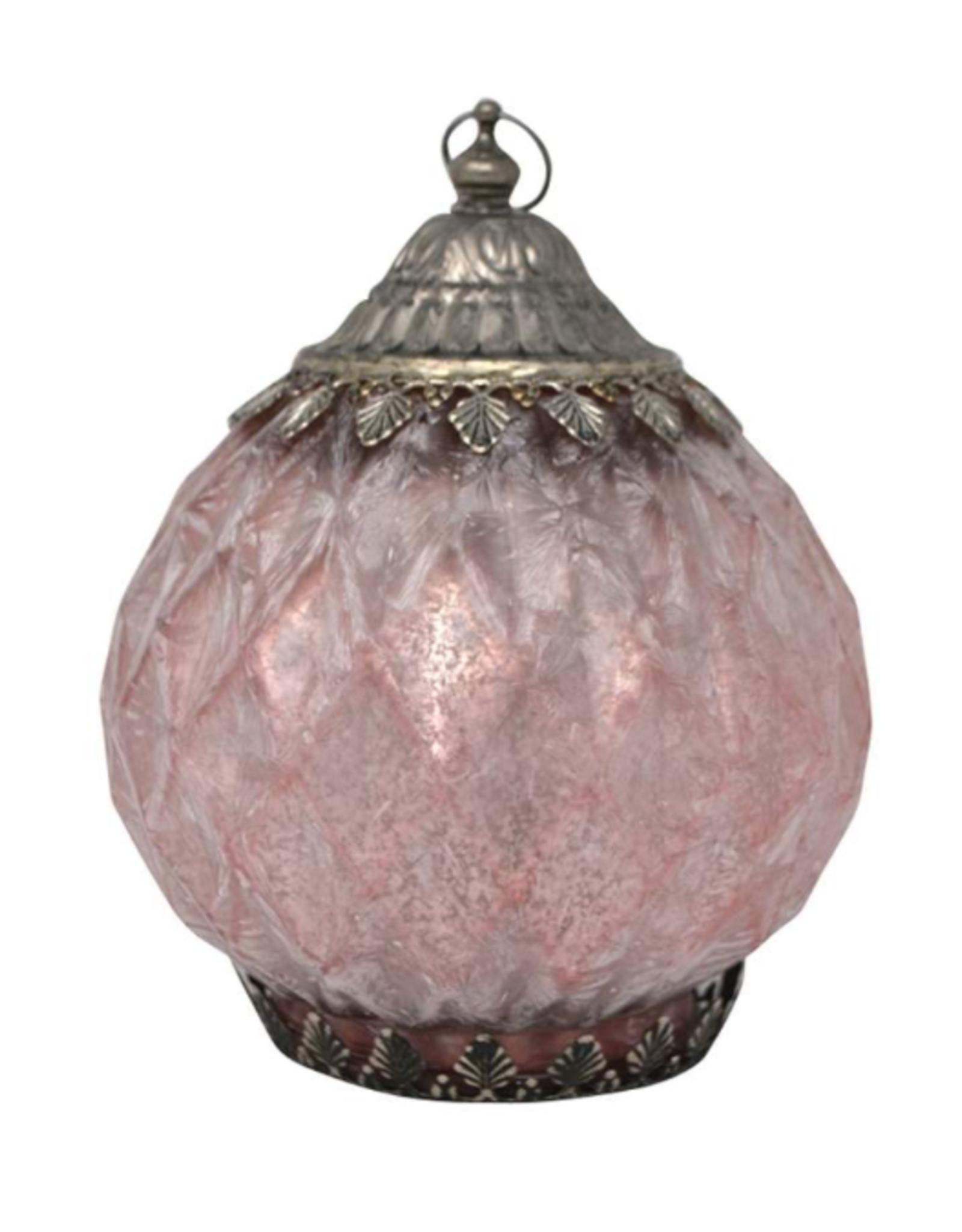 Lanterne DEL rose