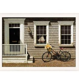 """Toile Vélo près de la maison 33"""" x 41"""""""