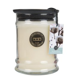 Chandelle-jar white cotton