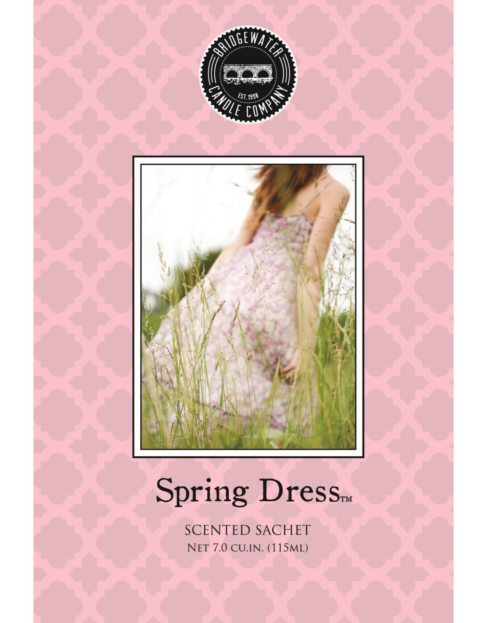 Parfum spring dress sac rose pâle