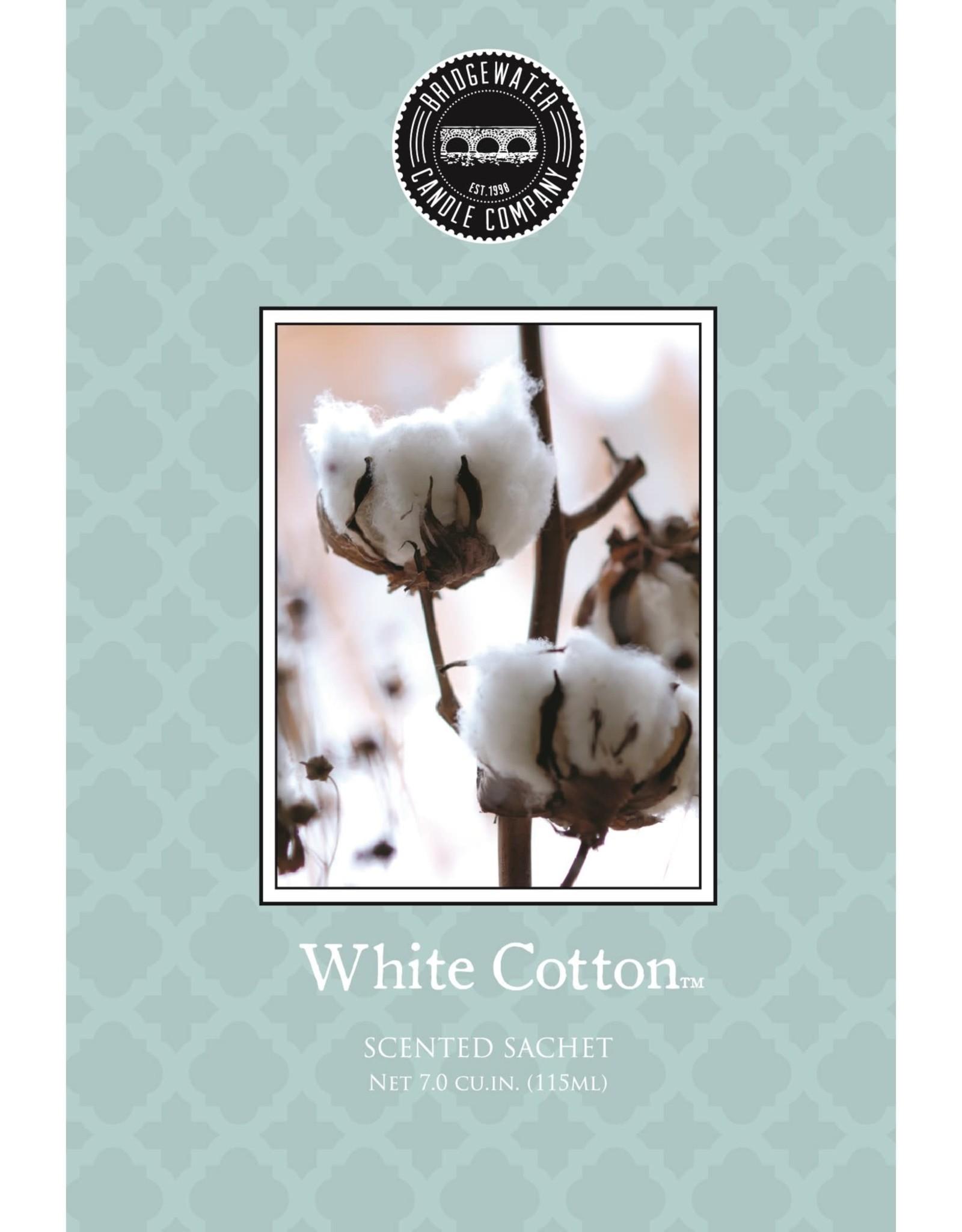 Parfum white cotton sac bleu-vert