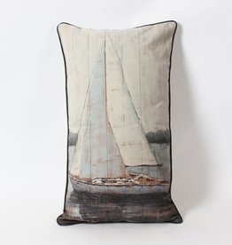 "Coussin Voilier 13"" x 24"""