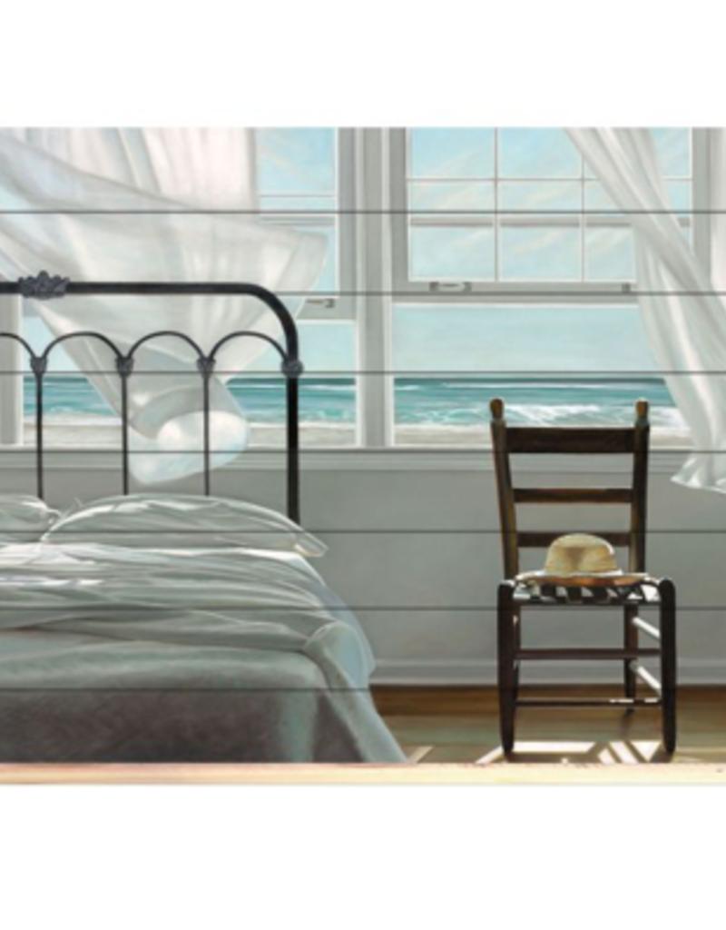 """Toile Chambre avec vue 30"""" x 40"""""""
