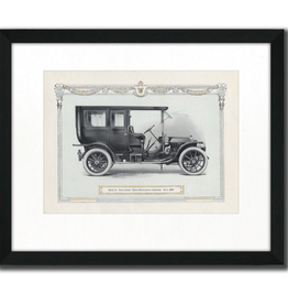"Toile auto vintage III 16"" x 20"""