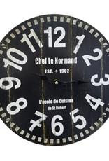 Horloge chef le normand